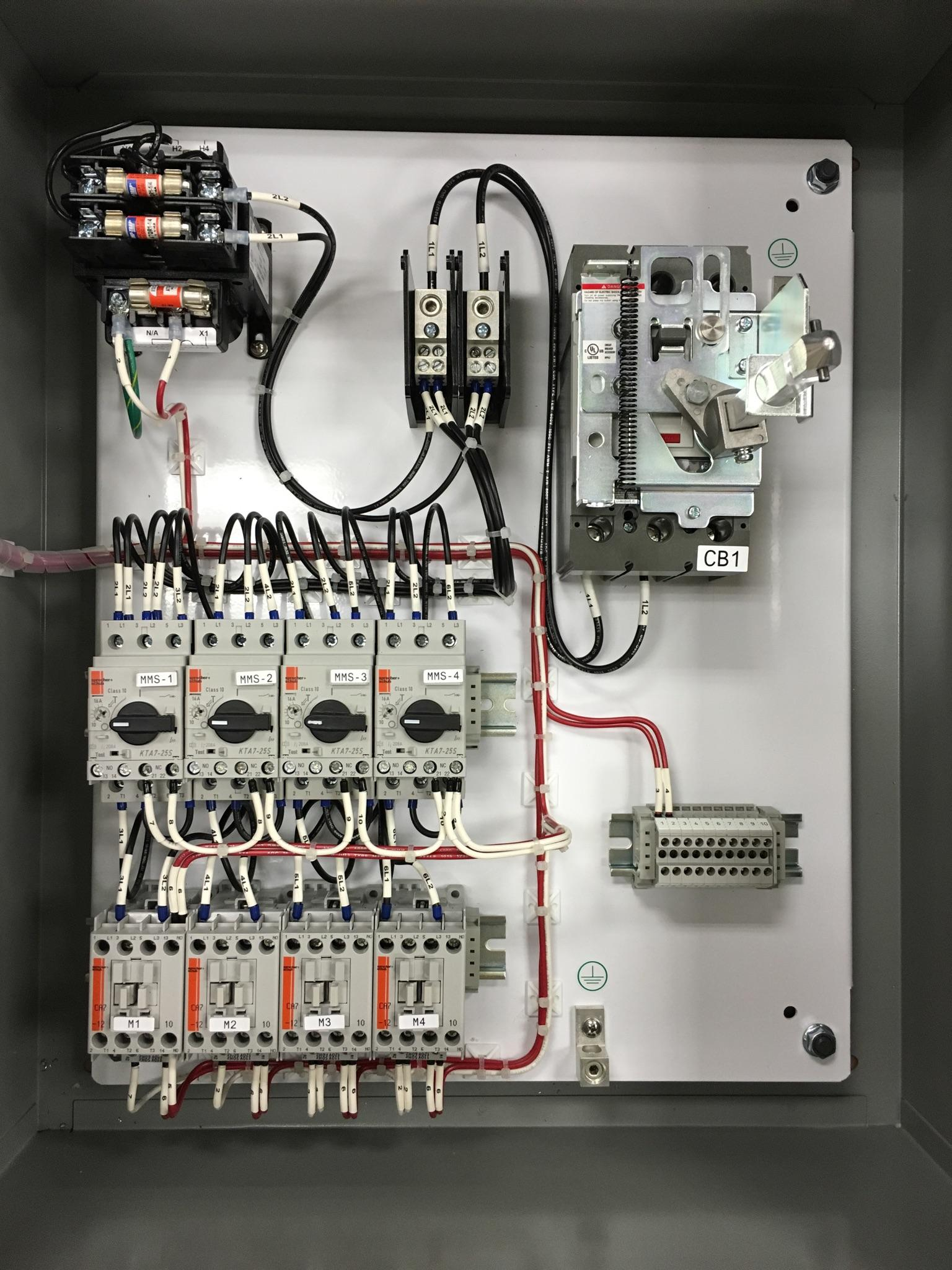 Electrical Control Panel Design Houston Motor Controlhouston Wiring Shop 9916