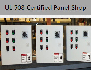 UL 508 Certified Panel Shop